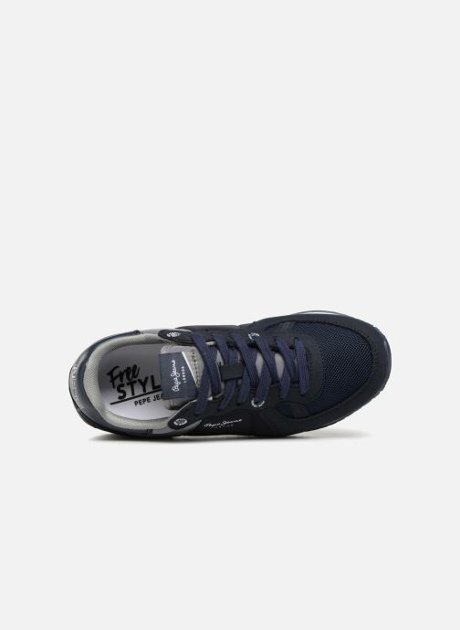 Sneakers Pepe jeans Sydney Basic Azzurro immagine sinistra