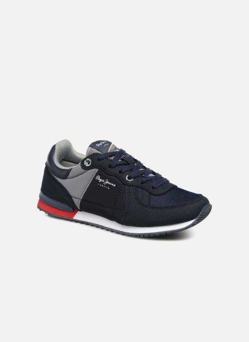 Sneakers Pepe jeans Sydney Basic Azzurro vedi dettaglio/paio