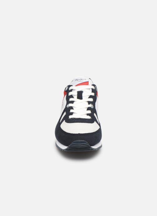 Sneakers Pepe jeans Sydney Basic Rosso modello indossato
