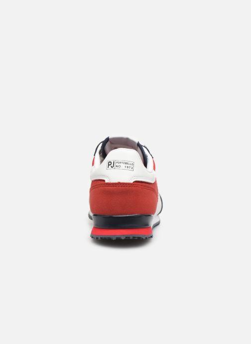Deportivas Pepe jeans Sydney Basic Rojo vista lateral derecha