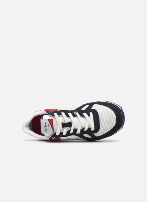 Deportivas Pepe jeans Sydney Basic Rojo vista lateral izquierda
