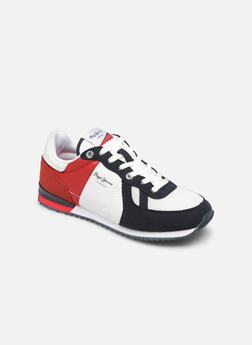 Deportivas Pepe jeans Sydney Basic Rojo vista de detalle / par