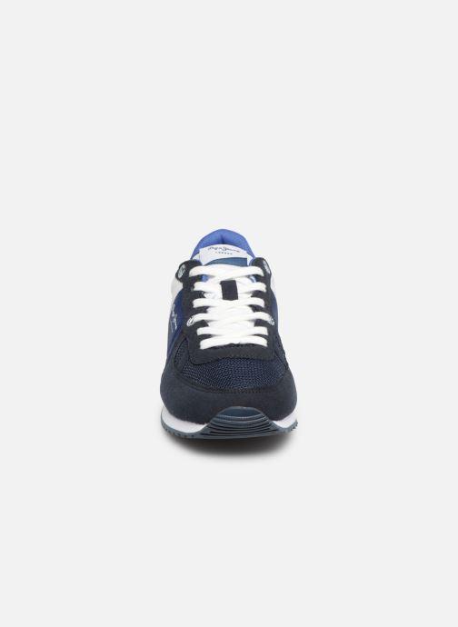 Baskets Pepe jeans Sydney Basic Bleu vue portées chaussures
