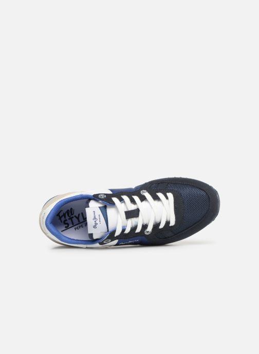 Baskets Pepe jeans Sydney Basic Bleu vue gauche