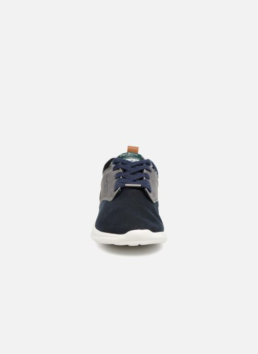 Baskets Pepe jeans Jayden Basic Junior Bleu vue portées chaussures