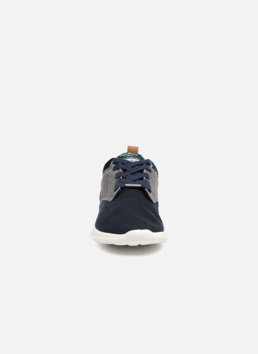Sneaker Pepe jeans Jayden Basic Junior blau schuhe getragen