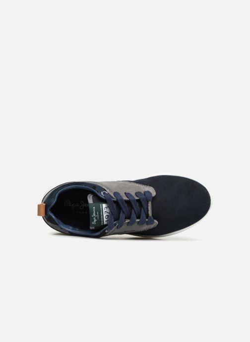 Sneaker Pepe jeans Jayden Basic Junior blau ansicht von links