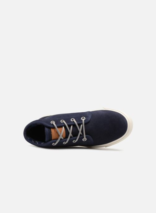 Baskets Pepe jeans Traveler Bootie Bleu vue gauche