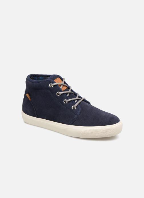 Baskets Pepe jeans Traveler Bootie Bleu vue détail/paire
