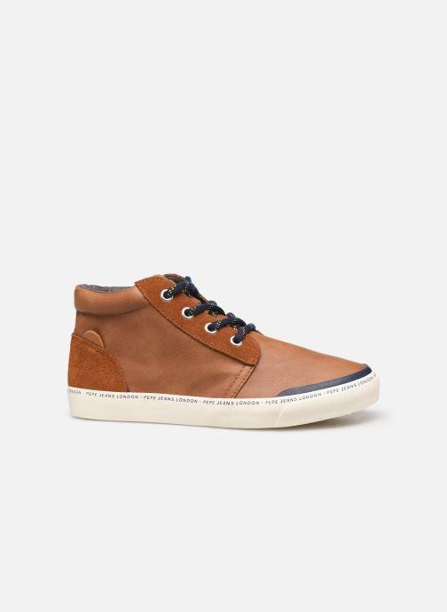 Sneakers Pepe jeans Traveler Bootie Bruin achterkant