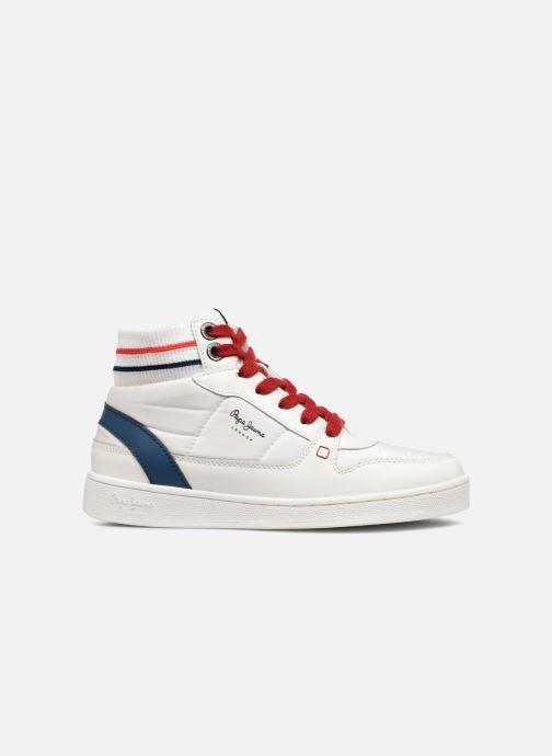 Sneaker Pepe jeans Brompton weiß ansicht von hinten