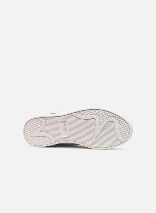Baskets Pepe jeans Brompton Blanc vue haut