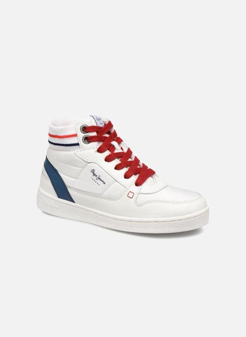 Baskets Pepe jeans Brompton Blanc vue détail/paire