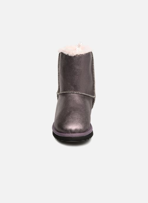 Bottes Pepe jeans Angel Teeth Violet vue portées chaussures
