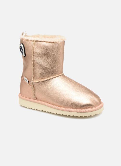 Bottes Pepe jeans Angel Teeth Or et bronze vue détail/paire