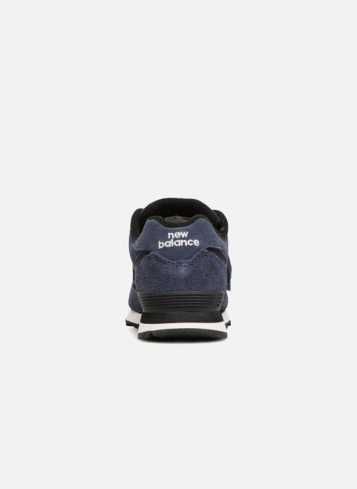Baskets New Balance YV574 Bleu vue droite
