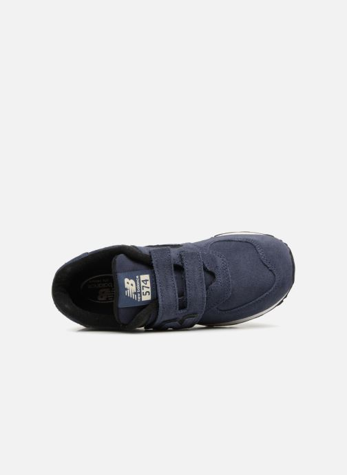 Sneakers New Balance YV574 Blauw links