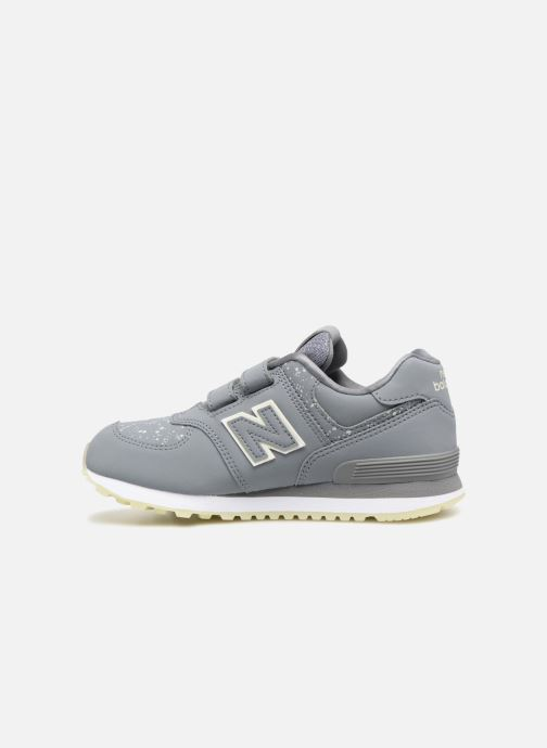 Baskets New Balance YV574 Gris vue face