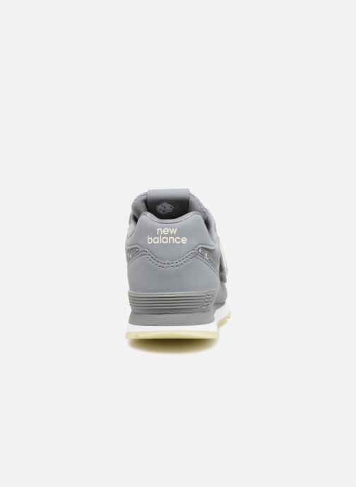 Baskets New Balance YV574 Gris vue droite