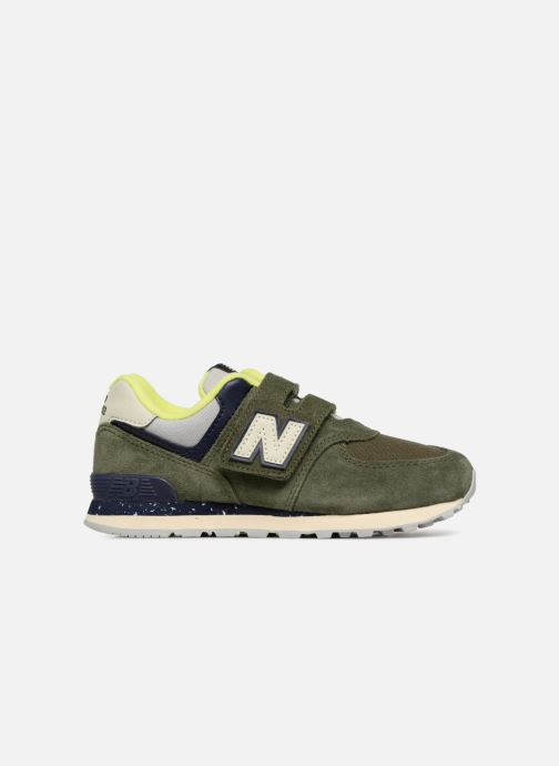 Trainers New Balance YV574 Green back view