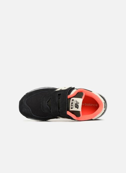 Baskets New Balance YV574 Noir vue gauche