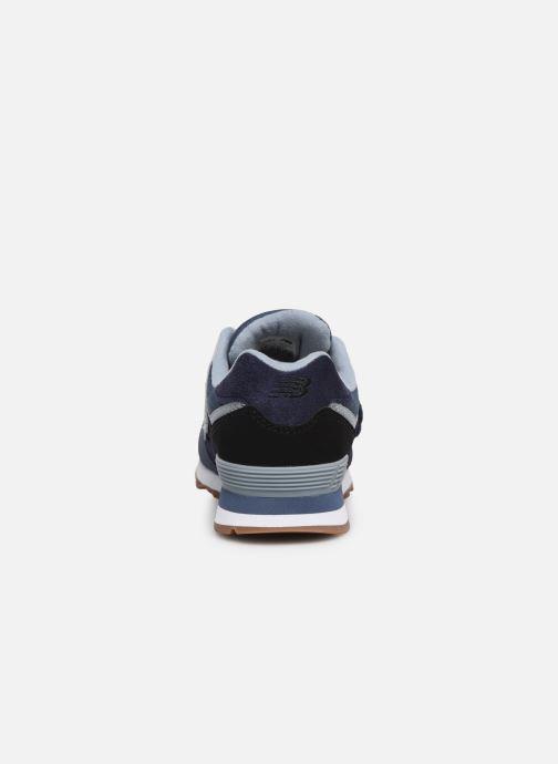 Sneaker New Balance YV574 blau ansicht von rechts