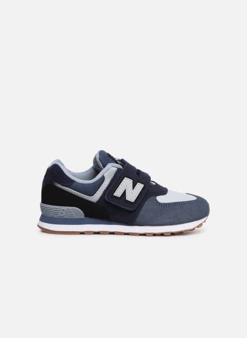 Sneaker New Balance YV574 blau ansicht von hinten