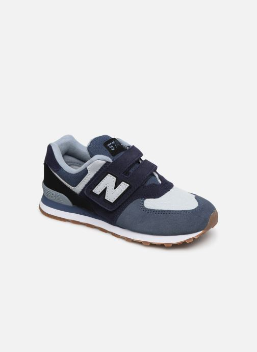 Trainers New Balance YV574 Blue detailed view/ Pair view