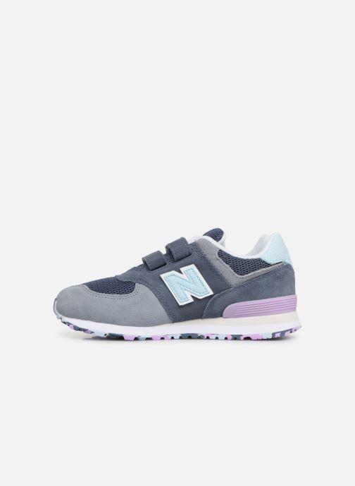 Sneaker New Balance YV574 grau ansicht von vorne