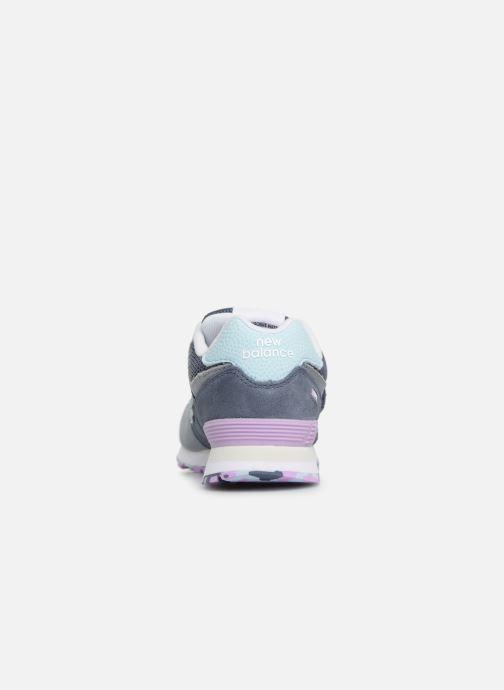 Sneaker New Balance YV574 grau ansicht von rechts