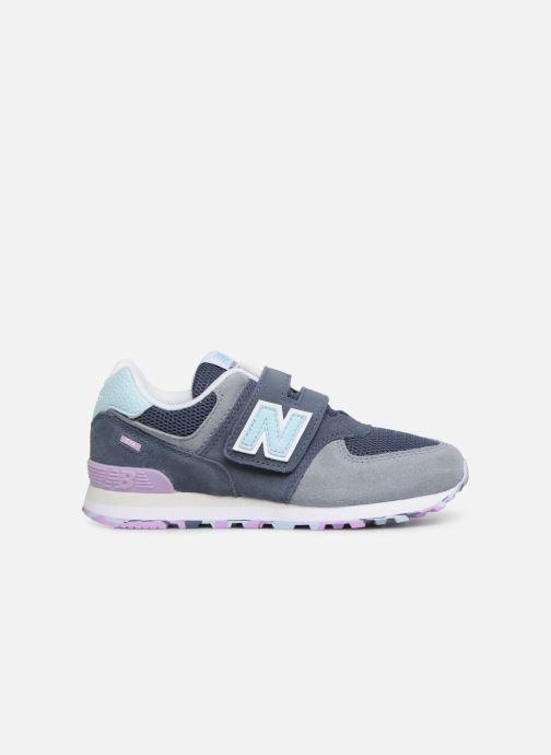 Sneaker New Balance YV574 grau ansicht von hinten