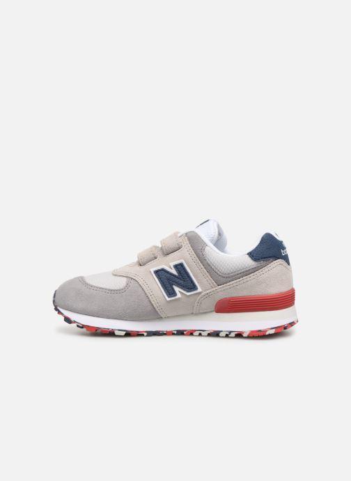 Sneakers New Balance YV574 Beige voorkant