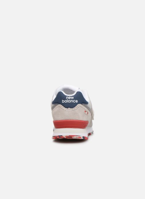 Trainers New Balance YV574 Beige view from the right
