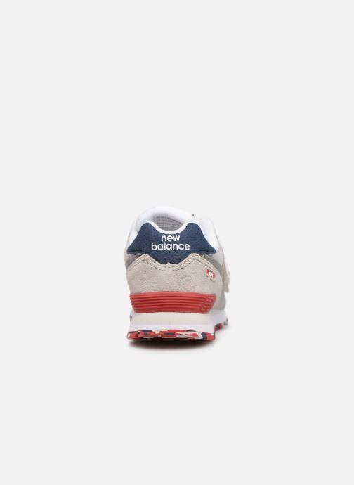 Sneakers New Balance YV574 Beige rechts