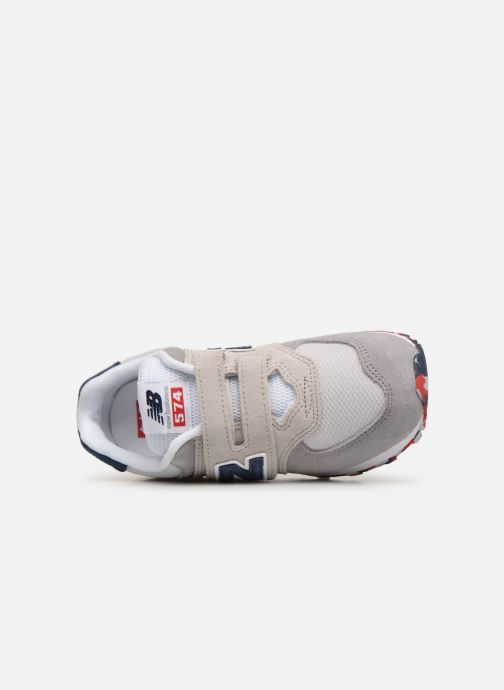 Trainers New Balance YV574 Beige view from the left