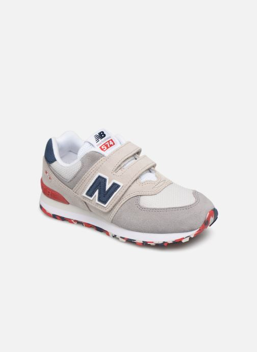 Trainers New Balance YV574 Beige detailed view/ Pair view