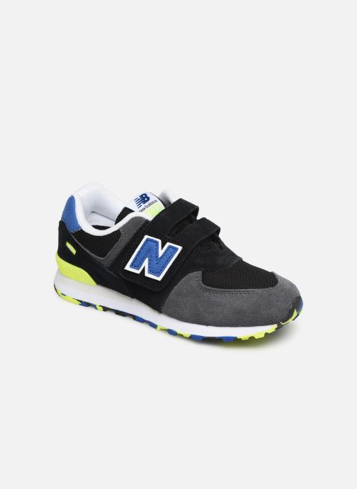 Trainers New Balance YV574 Black detailed view/ Pair view