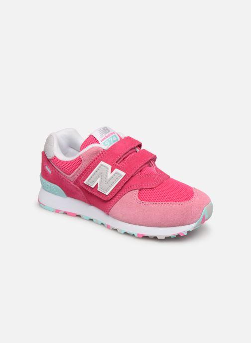 Sneaker New Balance YV574 rosa detaillierte ansicht/modell
