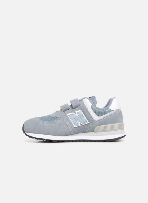 Sneakers New Balance YV574 Grijs voorkant