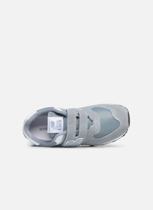 Sneakers New Balance YV574 Grå bild från vänster sidan