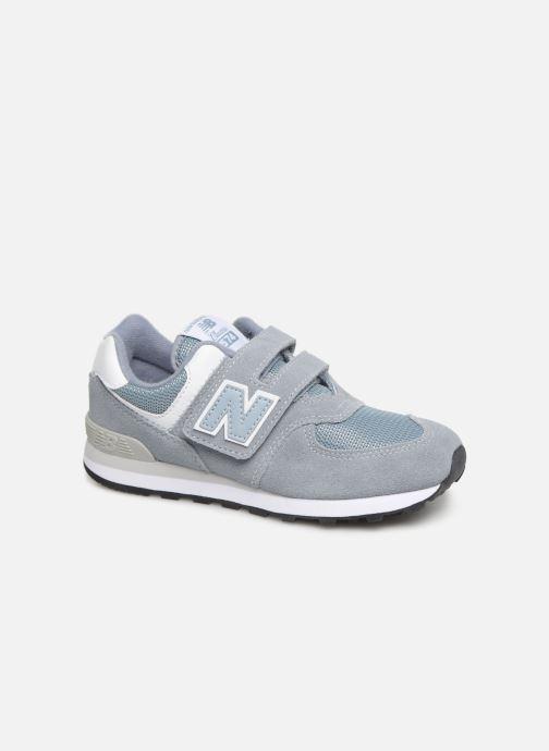 Sneakers New Balance YV574 Grå detaljerad bild på paret