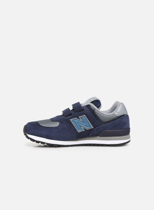 Trainers New Balance YV574 Blue front view