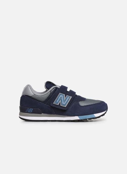Sneakers New Balance YV574 Azzurro immagine posteriore