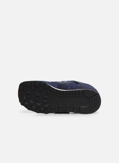 Sneakers New Balance YV574 Azzurro immagine dall'alto