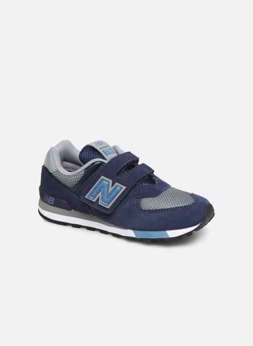 Sneakers New Balance YV574 Azzurro vedi dettaglio/paio