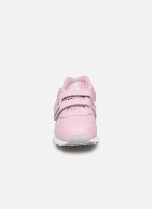 Sneaker New Balance YV574 rosa schuhe getragen