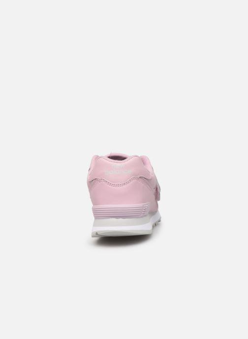 Sneaker New Balance YV574 rosa ansicht von rechts