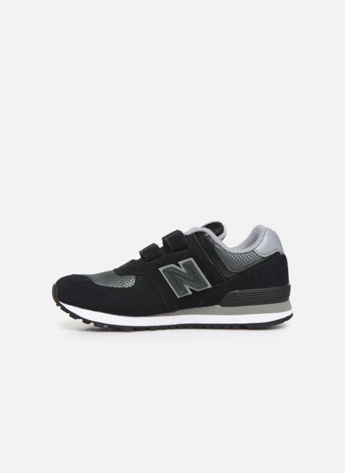 Baskets New Balance YV574 Noir vue face