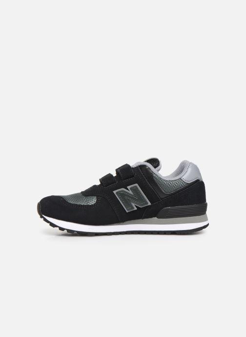 Sneakers New Balance YV574 Zwart voorkant