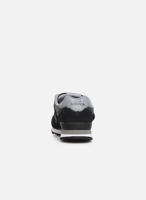Sneakers New Balance YV574 Nero immagine destra